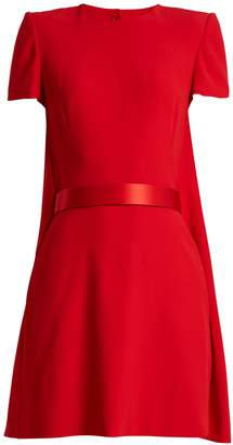 Alexander McQueen Crepe mini dress