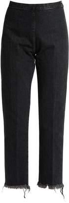 RACHEL COMEY Fletcher high-rise slim-leg cropped jeans $360 thestylecure.com