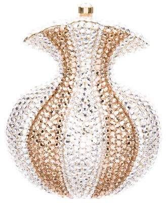 Judith Leiber Crystal-Embellished Borsettina Minaudière