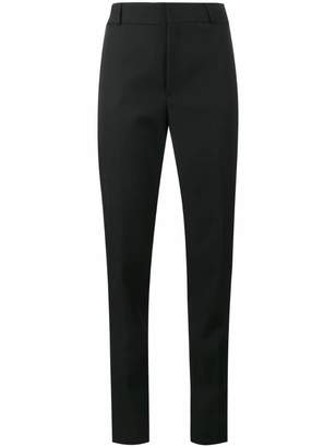 Saint Laurent satin stripe suit trousers