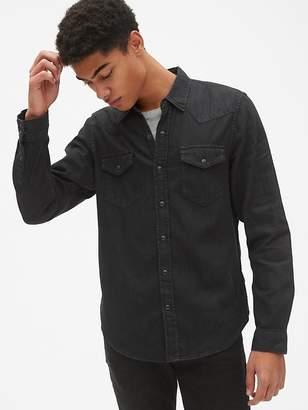 Gap Denim Western Shirt