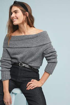 Anthropologie Natalia Off-The-Shoulder Sweater