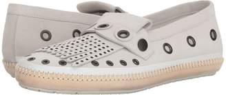 Bottega Veneta Suede Grommet Loafer Men's Slip on Shoes