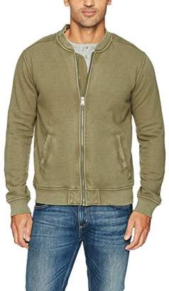 Lucky Brand Men's French Terry Bomber Jacket