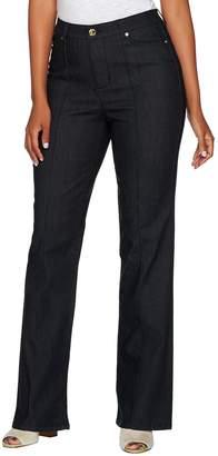 C. Wonder Regular Boot Cut Jeans with Seaming Detail