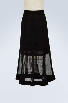 Alexander McQueen High-waisted skirt