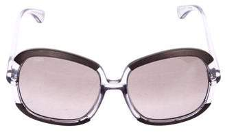 Tod's Tinted Oversize Sunglasses