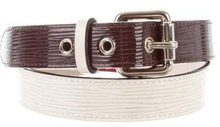 Louis Vuitton Epi Tricolor Belt