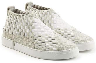 Casbia Woven Slip-On Sneakers