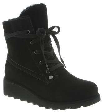 BearPaw Kirsta Genuine Shearling Lined Lace-Up Boot