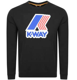 K-Way K Way Augustine Sweatshirt Black