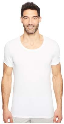 Hanro Cotton Superior Short Sleeve Crew Neck Shirt Men's T Shirt