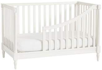 Pottery Barn Kids Blythe Spindle Toddler Bed Conversion Kit, Vintage Simply White