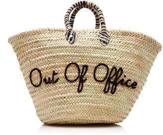 Poolside Out Of Office Le Shortie Straw Tote