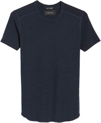 Wings + Horns Ribbed Slub Cotton Slim Fit T-Shirt