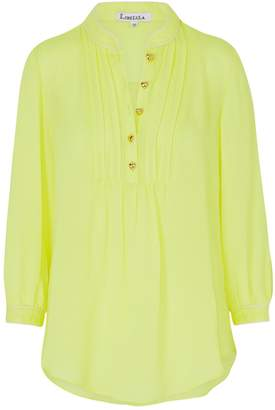 Libelula Delphine Top Bright Yellow