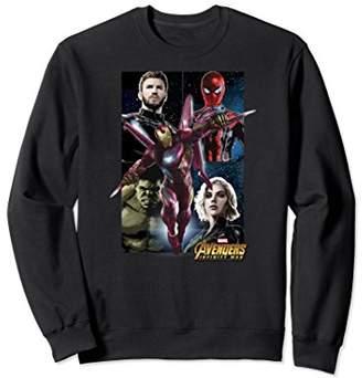 Marvel Infinity War Iron-Man Team Up Graphic Sweatshirt