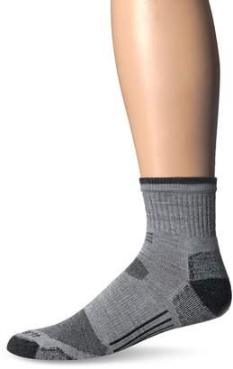 Carhartt Men's Merino Wool All-Terrain Quarter Sock