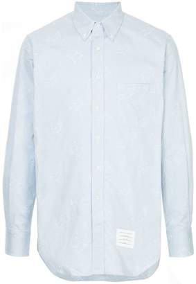 Thom Browne toy embroidered shirt