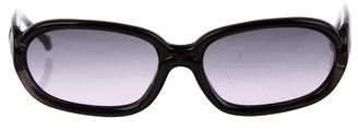 Fendi Gradient Oval Sunglasses