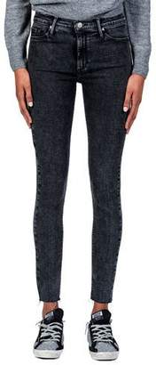 Black Orchid Carmen High-Rise Ankle Fray Jeans
