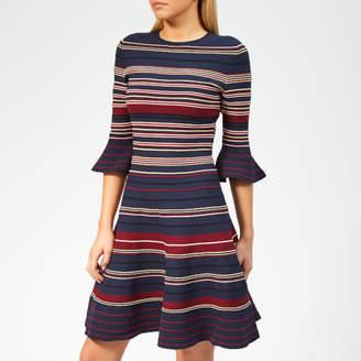 Ted Baker Women's Tayiny Stripe Ottoman Dress