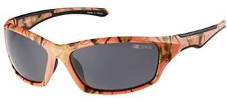 Nascar Women's Trackstar 172P Polarized Sport Wrap Sunglasses