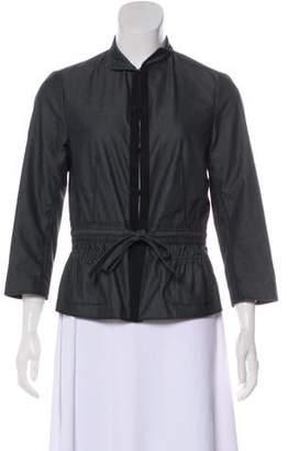 Magaschoni Long Sleeve Casual Jacket
