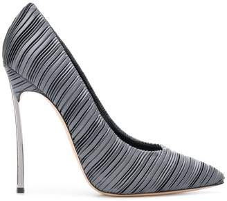 Casadei micro-pleated pumps
