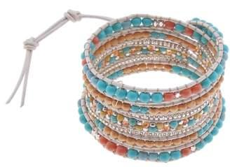 Nakamol Design All Stone Wrap Bracelet