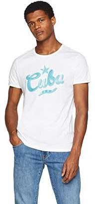 BOSS Casual Men's Tauno 5 T-Shirt, (White 100)