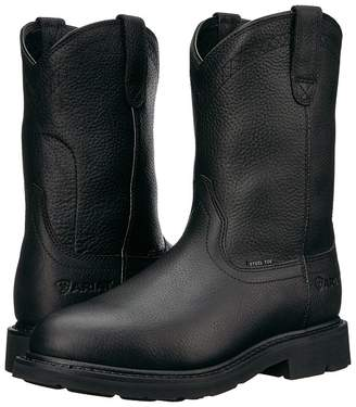 Ariat Sierra Steel Toe Cowboy Boots