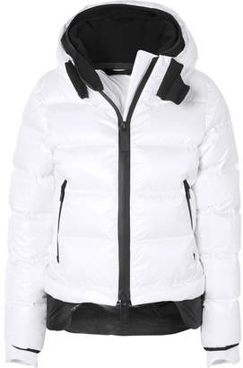 TEMPLA - Nano Hooded Quilted Shell Down Coat - White