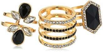 GUESS Women's Trio Ring Set
