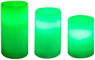 Sharper Image Candle LED With Remote 3-pc. Color Flameless Candle