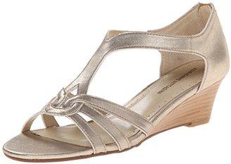 Adrienne Vittadini Footwear Women's Caldre Wedge Sandal $89 thestylecure.com