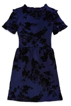 Aqua Girls' Ruffled Floral Dress, Big Kid - 100% Exclusive
