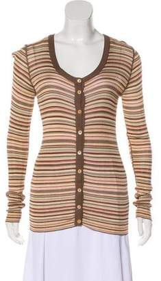 Dolce & Gabbana Striped Lightweight Cardigan