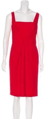 Fendi Sleeveless Wool Dress