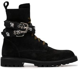 Amiri lace up boots