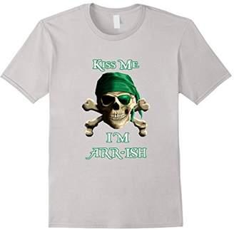MCS Kiss Me I'm ARRish St. Patricks Day Shirt