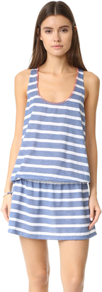 Splendid Chambray Cottage Tank Dress $108 thestylecure.com