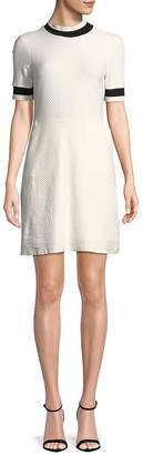 French Connection Textured Shift Dress