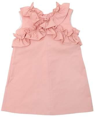 Marni Junior A-Line Light Cotton Gabardine Dress
