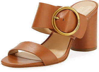 MICHAEL Michael Kors Estelle Mid-Heel Slide Sandals