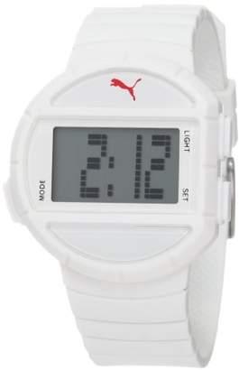 Puma Women's PU910892001 Half-Time Small Digital White Watch
