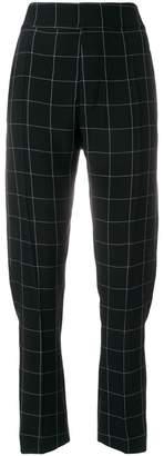 Haider Ackermann checked trousers