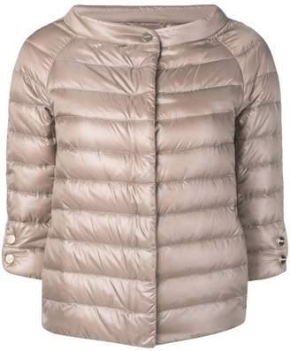 Herno 3/4 sleeve padded jacket