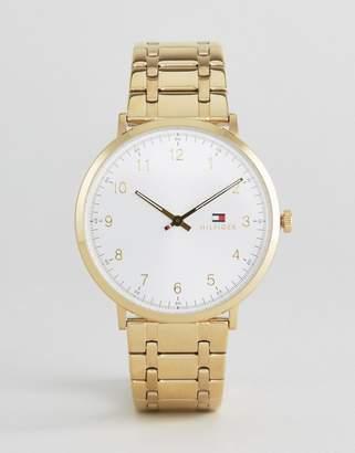 Tommy Hilfiger 1791337 Slim Gold Bracelet Strap Watch