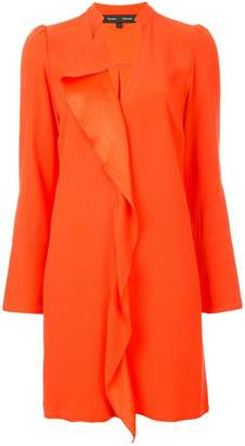 Proenza Schouler Long Sleeve Ruffle Dress